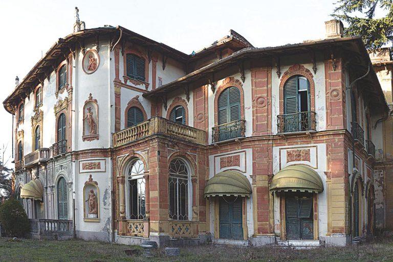 Villa minetta a novi ligure casa abbandonata dove visse l for Disegni di case abbandonate