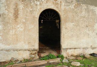 Ingresso di una casa di Villaggio Asproni