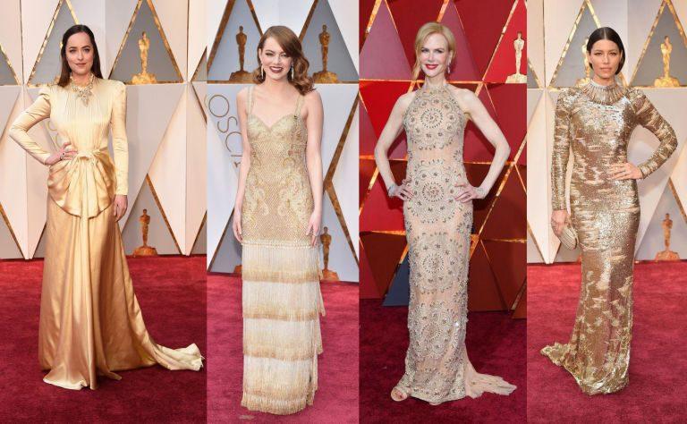 Oscar 2017: i vertiginosi look del red carpet e dell'after party