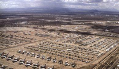 La Davis-Monthan Air Force Base