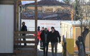 Baggio compie 50 anni e li festeggia ad Amatrice, con i terremotati