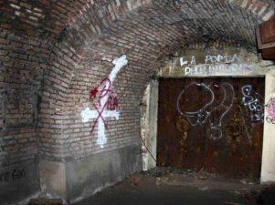 Ingresso nel bunker