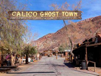 Ingresso di Calico, la città fantasma