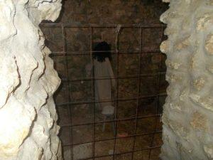 Interno di una prigione del castello
