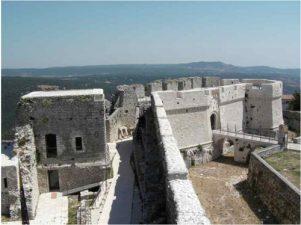 Veduta del castello e panorama