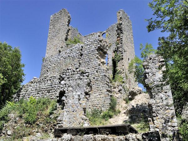 I ruderi di Castelvecchio di San Gimignano