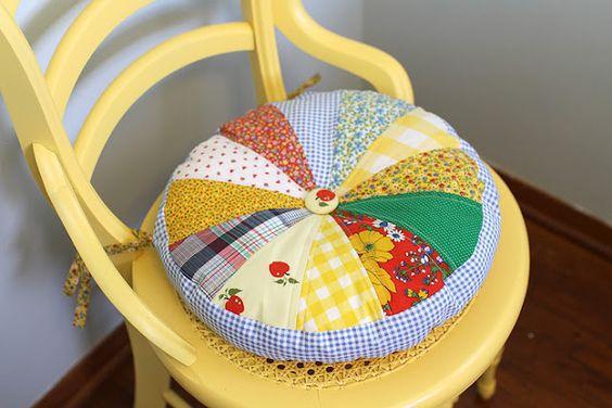 Tre modi per realizzare cuscini per sedie | Notizie.it