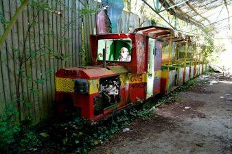 Trenino abbandonato a Dadipark