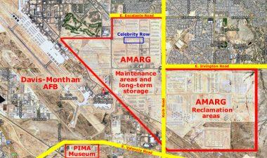 Mappa della base militare