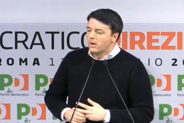 Direzione PD, Renzi si è dimesso dalla segreteria del partito