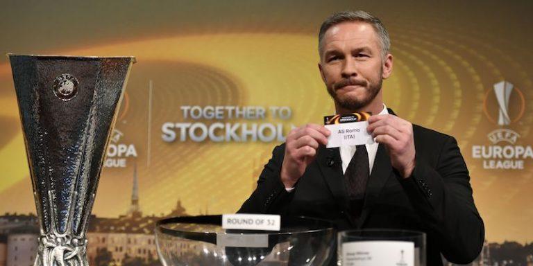 Sorteggi degli ottavi di Europa League: la Roma incontrerà il Lione