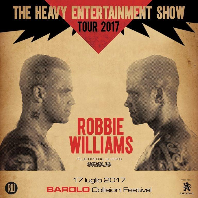 Robbie Williams: seconda data in Italia il 17 luglio