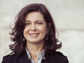 """Laura Boldrini, presidentessa della Camera dei Deputati, è stata ospite di Pisapia durante il convegno """"Futuro Prossimo"""", tenutosi a Milano."""