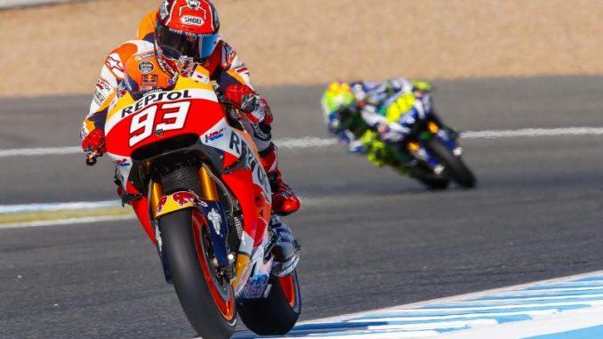 MotoGp, test in Australia: Marquez in testa, Rossi rischia ala curva Siberia