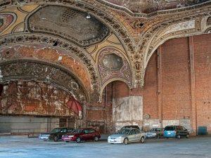 Michigan Theater trasformato in parcheggio