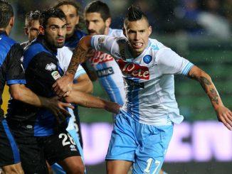 Napoli-Atalanta 0-2: doppietta di Caldara. I nerazzurri sognano la Champions