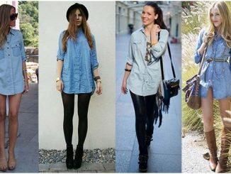 Come indossare la camicia di jeans
