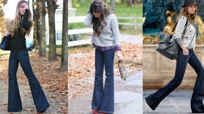 scarpe sotto i jeans