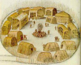 L'insediamento di Roanoke all'epoca