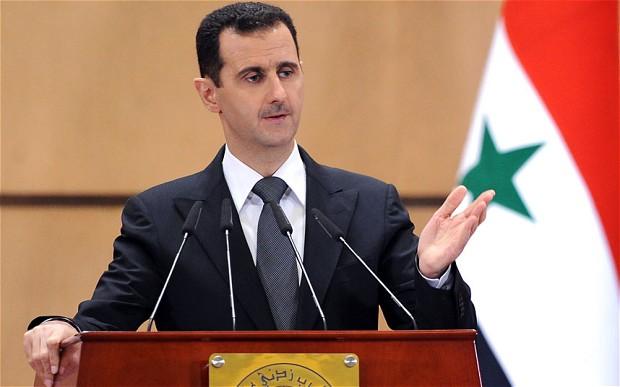 siria bashar al assad