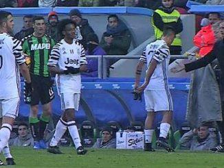 Il 29 gennaio la Juve vinse contro il Sassuolo per 2 reti a zero. Fino a tre quarti di partita tutto scorreva liscio. Vediamo perché se ne parla ancora