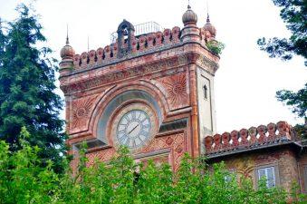 Torre Centrale o Torre dell'Orologio del castello