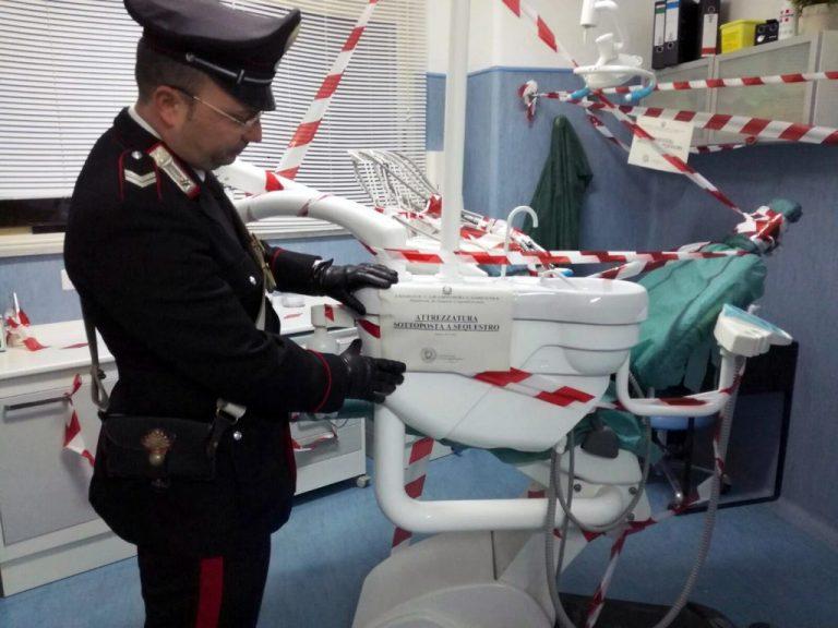 Napoli: chiuso studio dentistico abusivo privo di qualsiasi autorizzazione