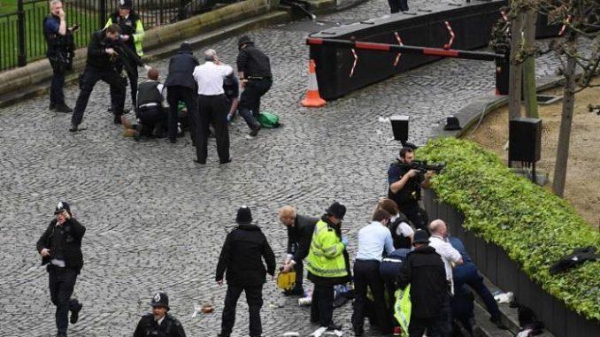 Cronaca dell'attentato a Westminster
