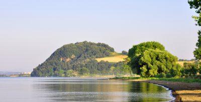 Bisenzio sull'omonimo monte sul Lago di Bolsena