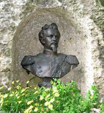 Busto di Ludwig al castello