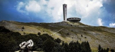 Il Buzludzha Monument in Bulgaria