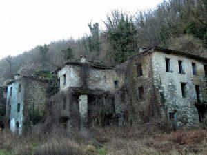 Altre case abbandonate di Ca' Scapini