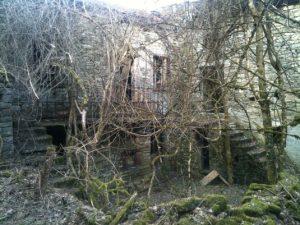 L'abbandono completo del borgo