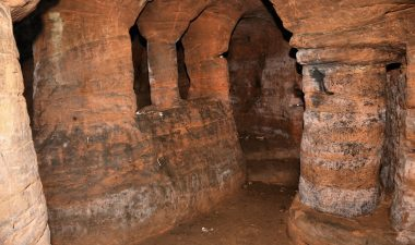 Corridoio delle Caynton Caves