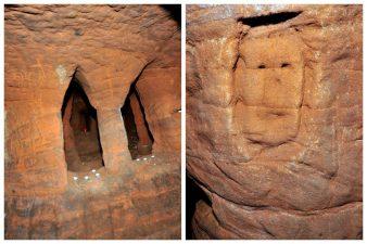 Nella caverna sarebbero avvenuti riti satanici