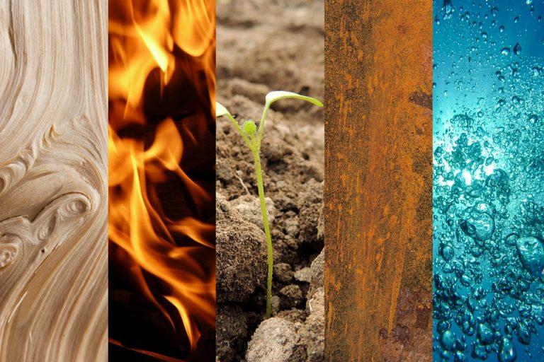 Come applicare i cinque elementi del feng-shui nel nostro ambiente