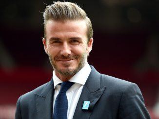 David Beckham oggi
