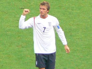 David Beckham calciatore