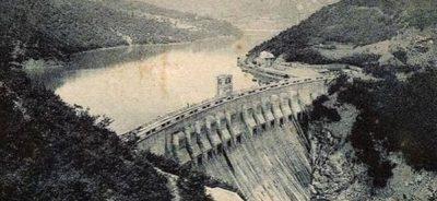 La Diga di Molare prima del disastro del 13 agosto 1935