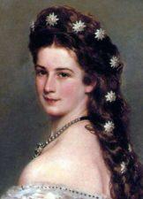 Elisabetta d'Austria nel suo ritratto più famoso