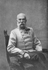 L' Imperatore Francesco Giuseppe nel 1914