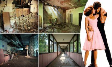 """Altre immagini dell'ex hotel e una scena di """"Dirty Dancing"""""""
