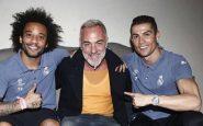 Vacchi supera l'hotel blindato del Real Madrid e va a cena con Ronaldo