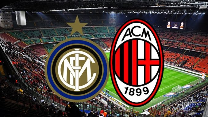 Inter Milan il derby anticipato alle 12 30