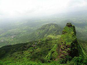 Il Kalavatin Durg e la zona circostante