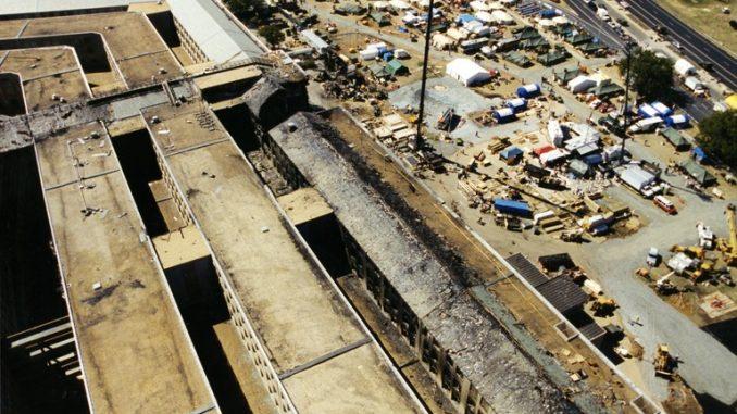 Le foto inedite dell'11/09: il Pentagono