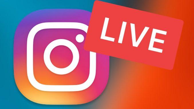 Live Instagram: come funziona