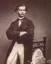 Fotografia di Ludwig in giovane età