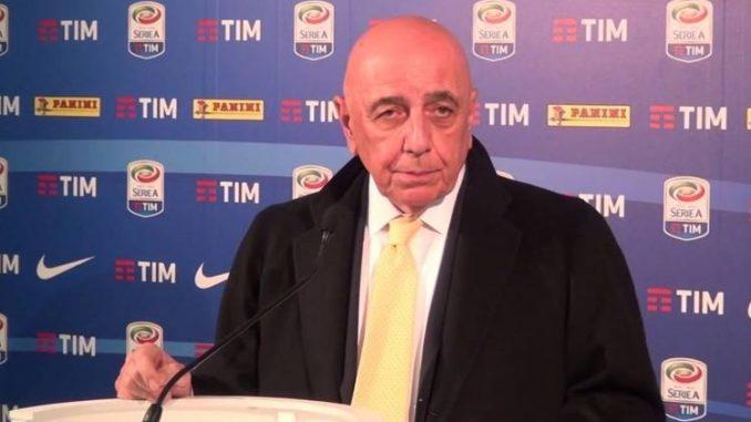 Milan, Berlusconi dice no a Galliani come presidente di Lega