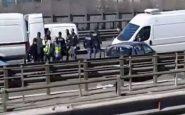 Milano: contromano in tangenziale per fuggire dalla polizia dopo il furto. Otto i feriti